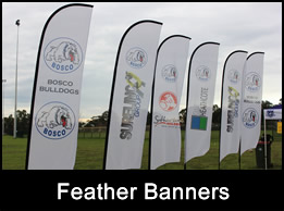 A Frame Banners