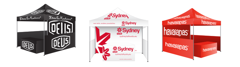 Custom Printed Marquees