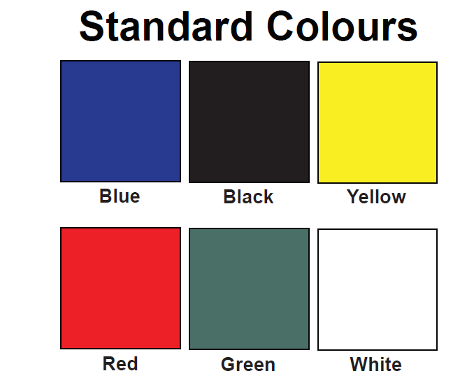 Standard roof colors